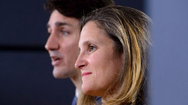 Justin Trudeau, Chrystia Freeland to meet Mexico's USMCA point man in Ottawa
