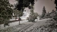 Calgary snowfall