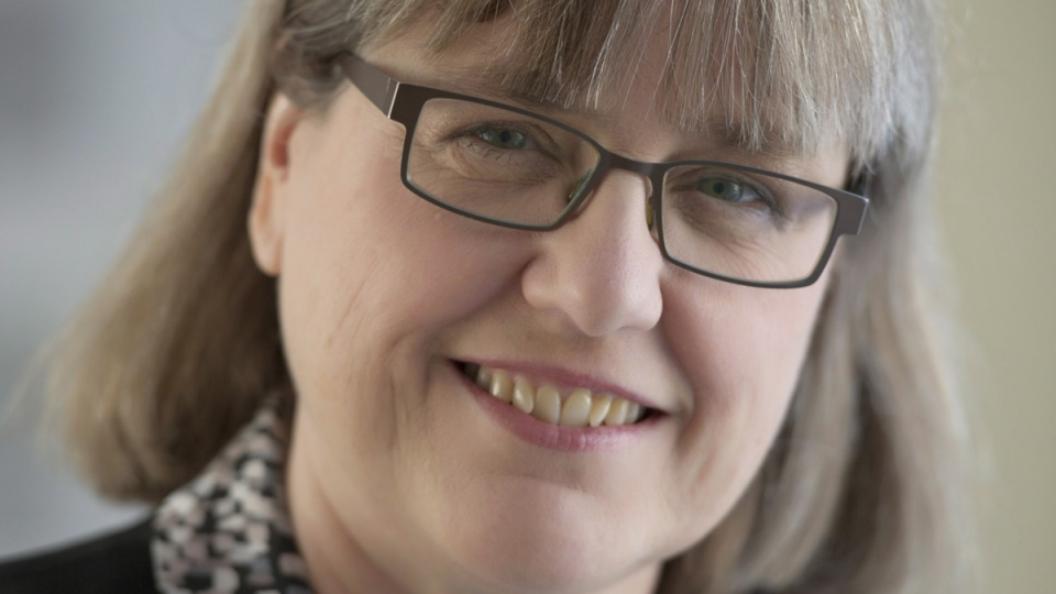 Professor Donna Strickland in a University of Waterloo handout photo. (THE CANADIAN PRESS / HO-University of Waterloo)
