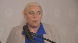 Manon Massé said that Quebec independence is a core value for Quebec Solidaire (Oct. 2, 2018)