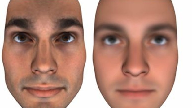 DNA facial recognition
