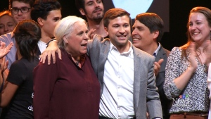 Quebec Solidaire celebrates 3rd place