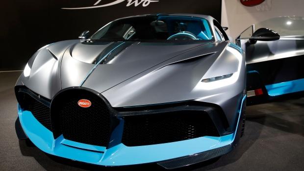 The New Bugatti Divo Makes European Debut In Paris Ctv News Autos