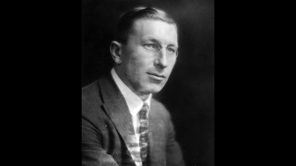 Sir Frederick Banting is pictured in an undated file photo. The illustrious list of Nobel Prize winners features the names of 22 laureates who were either born in Canada or gained professional distinction in this country. (THE CANADIAN PRESS)