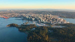 CTV Vancouver's Gary Barndt captured some stunning views of Metro Vancouver from above during September flights in Chopper 9.