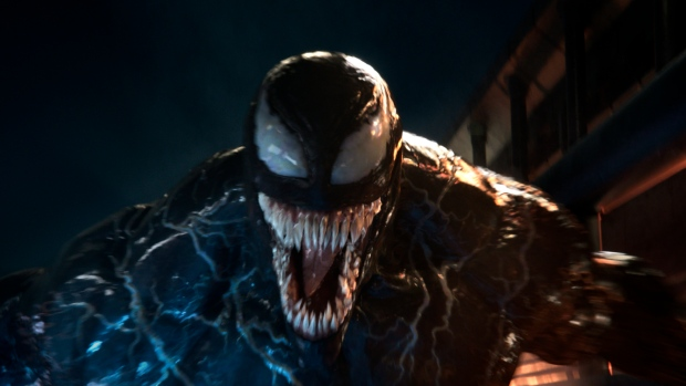 'Venom' keeps its lock on North American box office