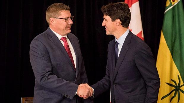 Scott Moe, Justin Trudeau