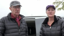 Couple lives in van for years after eviction