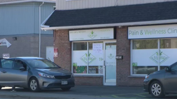 The dispensary bills itself as a pain and wellness clinic.