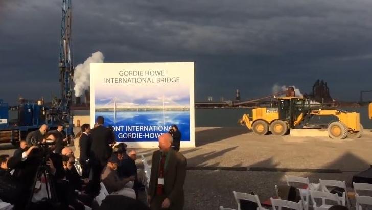The Canadian Port of Entry for the Gordie Howe International Bridge in Windsor, Ont., on Friday, Oct. 4, 2018. (MIchelle Maluske / CTV Windsor)