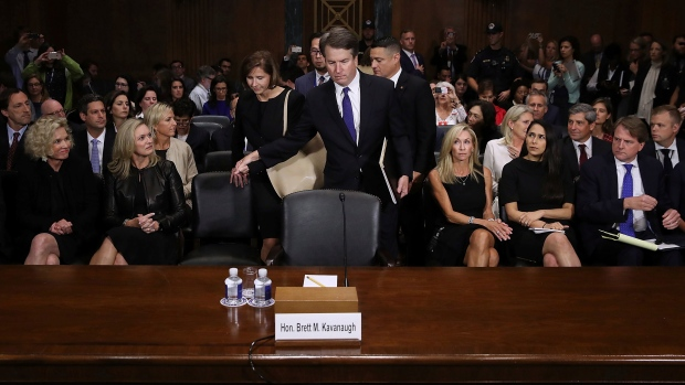 A rift at Facebook after executive attends Kavanaugh hearing