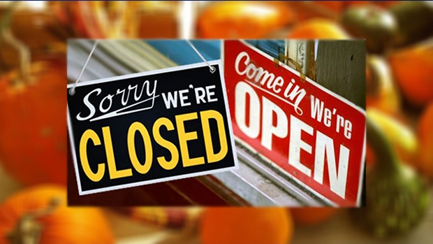 Open/Closed Thanksgiving