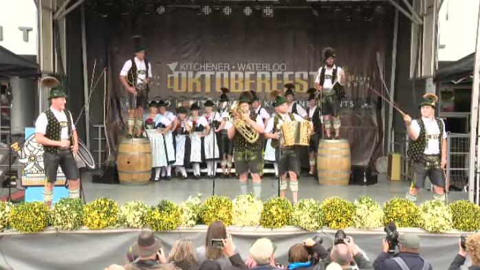 Kitchener welcomed Oktoberfest for its 50th year on Friday.
