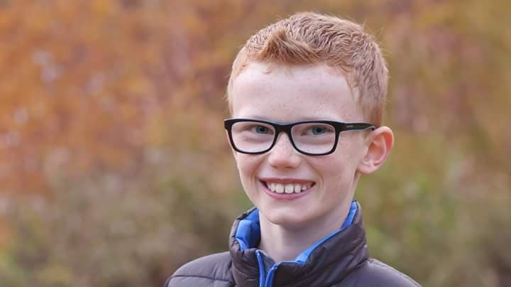 Connor Entrop, 12, was prescribed antibiotics for his symptoms. (Supplied)