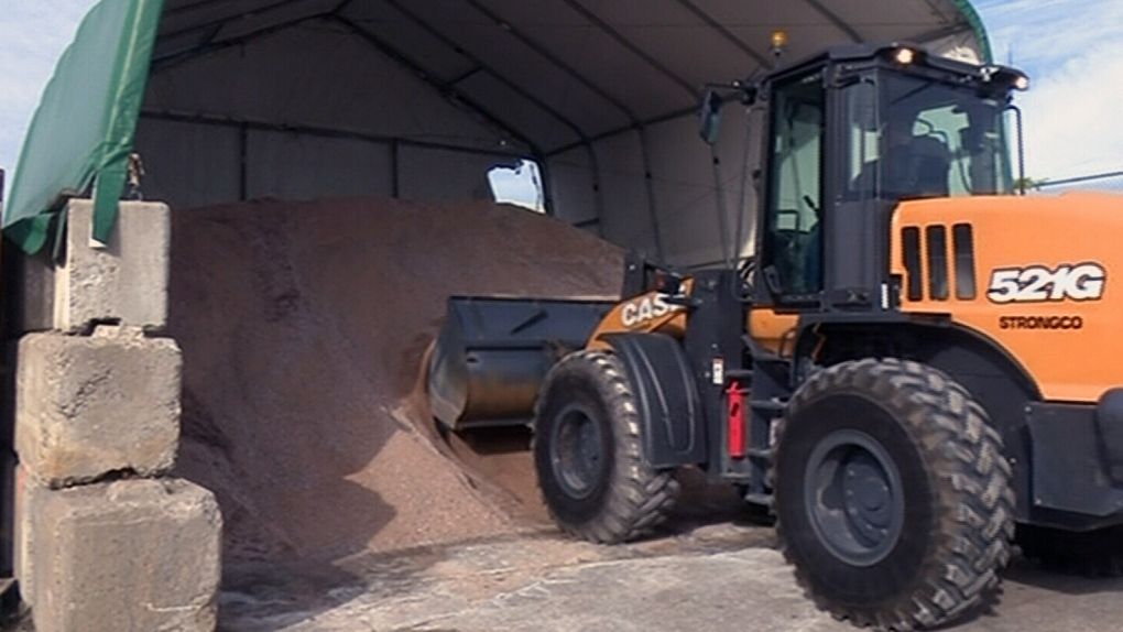 Road salt in seriously short supply | CTV News Barrie