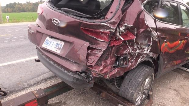 Clearview crash Saturday
