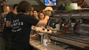 Café Olympico gets international honour