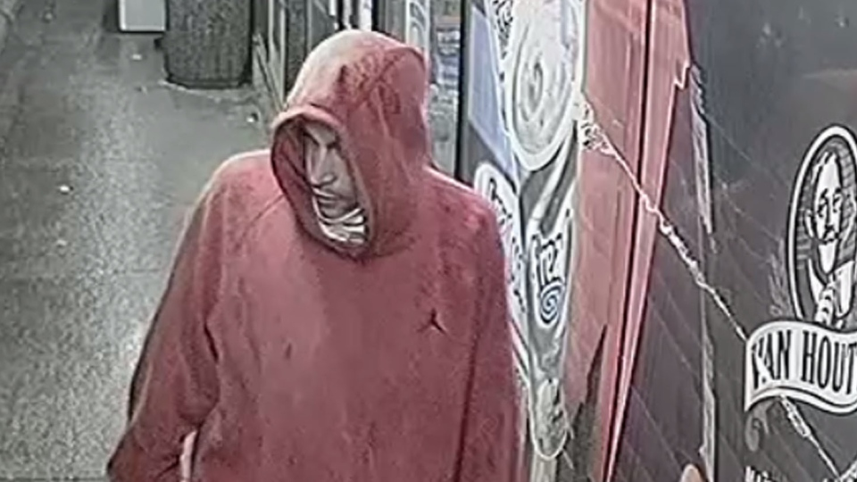 Brantford convenience store robbery suspect. (Courtesy: Brantford Police)