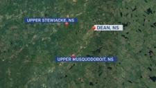 Dean map