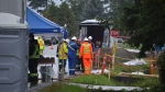 Petroleum smell reported near Trans Mountain pipeline