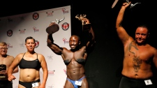Trans Bodybuilders competition