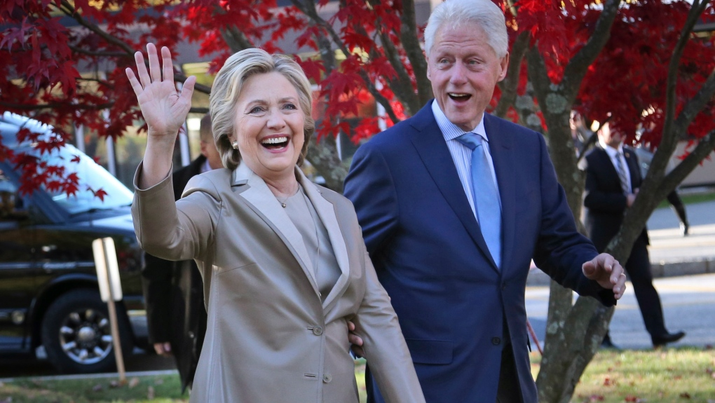 Bill and Hillary Clinton tour