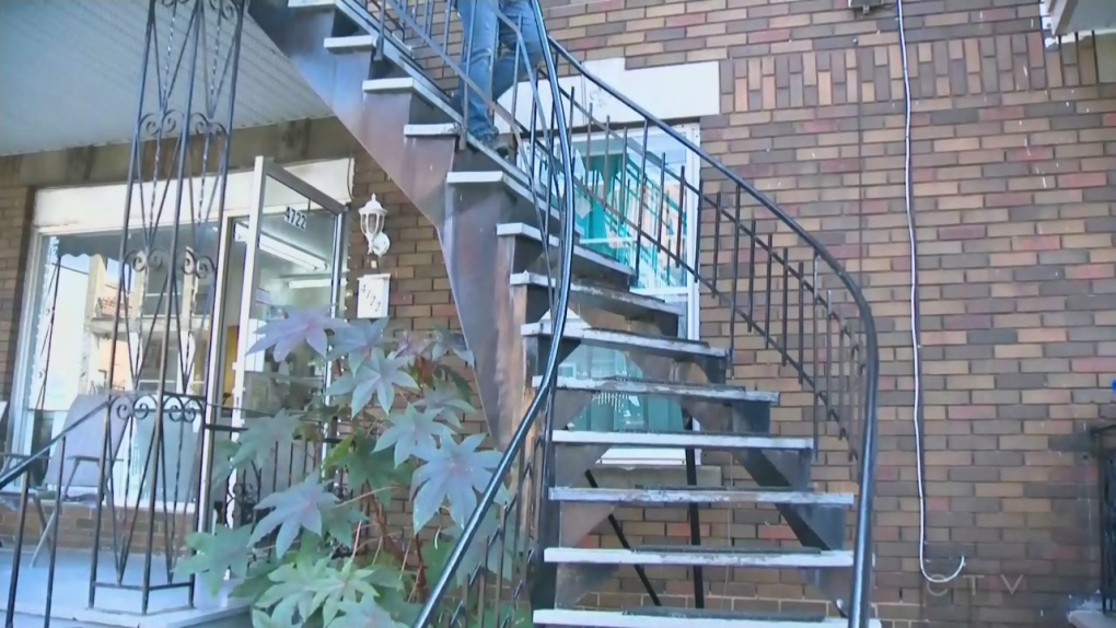 Tenant sues landlords for $1 million after staircase fall | CTV News