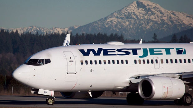 The owner of the prohibited item had already boarded a WestJet flight that was waiting to depart. (File photo: THE CANADIAN PRESS/Darryl Dyck)
