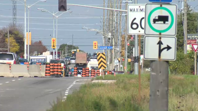 A major construction has begun on Woodlawn Road in Guelph.