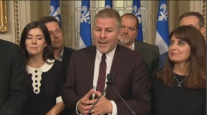 In 2003, Pascal Berube ran as a candidate in Matane but was defeated by Liberal Candidate Nancy Charest. Four years later, in 2007, Berube defeated Charest by just over 200 votes.  He was re-elected in 2012 and 2014, and named the Opposition House Leader by Lisee in October 2016. (CTV Montreal)