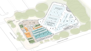 A rendering of the proposed Crystal Pool replacement project is shown. (Victoria.ca)