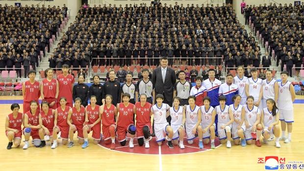 Yao Ming in Pyongyang