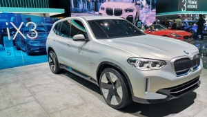 BMW iX3 concept at the Paris Motor Show 2018