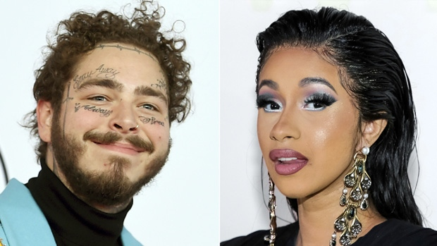Post Malone and Cardi B