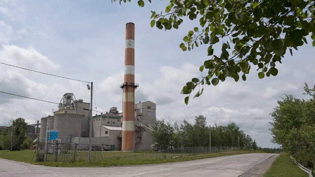 Lafarge cement plant in Brookfield, N.S.