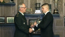 Sudbury cadet receives big honour