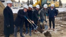 The partners of a mixed-income project in Edmonton's Londonderry community gathered Wednesday for a groundbreaking ceremony.