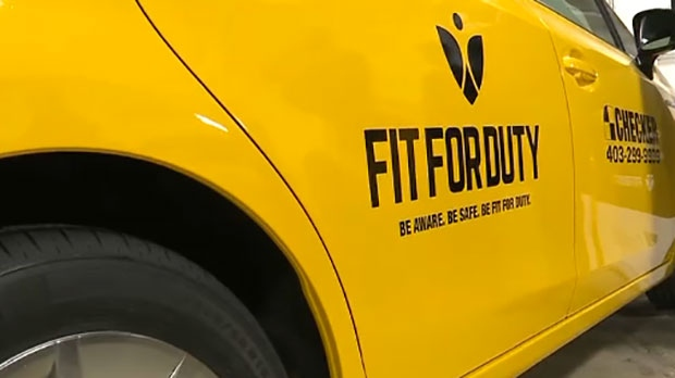 Checker's fleet of over 900 vehicles have been outfitted with the Fit for Duty logos.