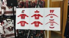 Calgary Hitmen - Corral Series jerseys