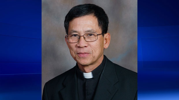 Father Peter Hung Cong Tran has been accused of sexual misconduct with a parishioner in Vancouver. (Supplied)