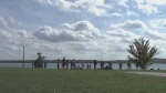 The Barrie waterfront on Oct. 10, 2018 (CTV Barrie)