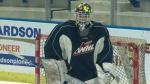 Blades goaltender key to early success
