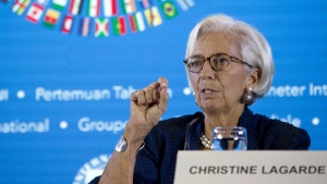 Christine Lagarde in Bali, Indonesia