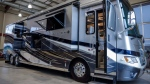 A recreational vehicle worth over $600,000 is on display at Bucars RV Centre in Balzac, Alta., Monday, Oct. 1, 2018. THE CANADIAN PRESS/Jeff McIntosh