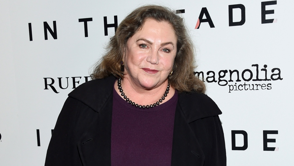 In this Dec. 4, 2017, file photo, actress Kathleen Turner attends the premiere of 'In the Fade' in New York. (Photo by Evan Agostini/Invision/AP, File)