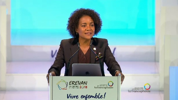 Michaelle Jean made a public plea to hold on to her post as secretary general of la Francophonie on Thursday Oct. 11, 2018