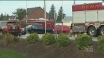 Hazmat unit responds to chemical spill