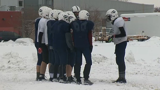 Five junior level football teams in Calgary folded at the start of this school year or were combined with senior programs because of a lack of enrollment.