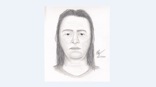 RCMP suspect sketch