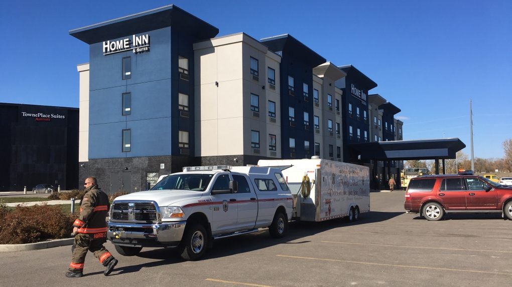 Chlorine gas exposure at Saskatoon hotel